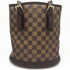 Louis Vuitton Damier Petit Bucket Bag